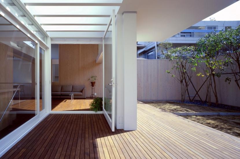 磯子台の家の部屋 テラス