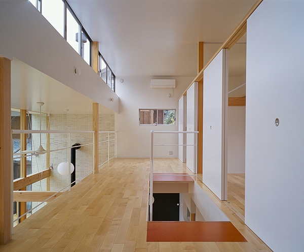 前原の家の部屋 2階ファミリーリビング(撮影:小倉康正)