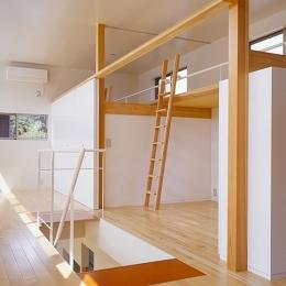 前原の家 (2階寝室(撮影:小倉康正))