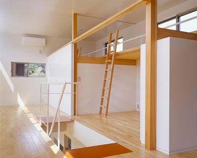 2階寝室(撮影:小倉康正) (前原の家)