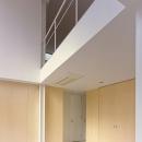 1階と2階を繋ぐ空間(撮影:平井広行)