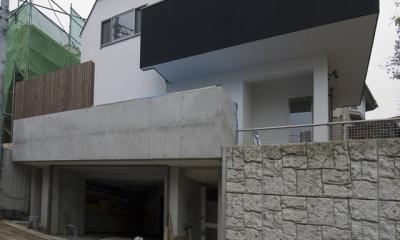 アウトドアリビングの家(4)