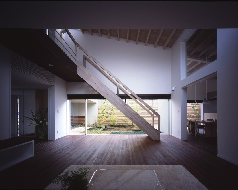 下井草の家 (リビング 1)