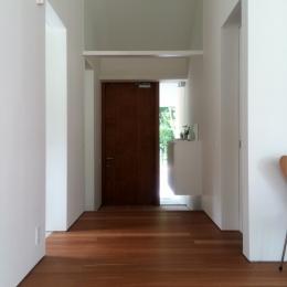 木立のいえ (玄関)