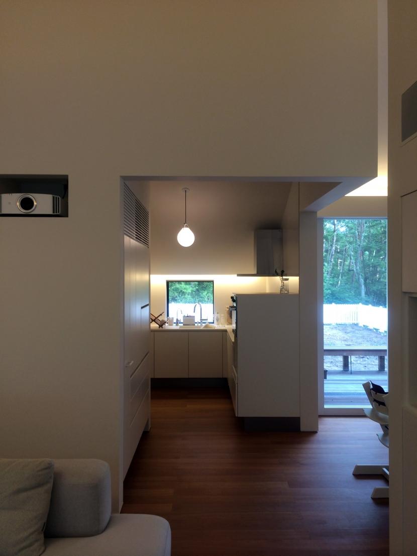 木立のいえの部屋 キッチン