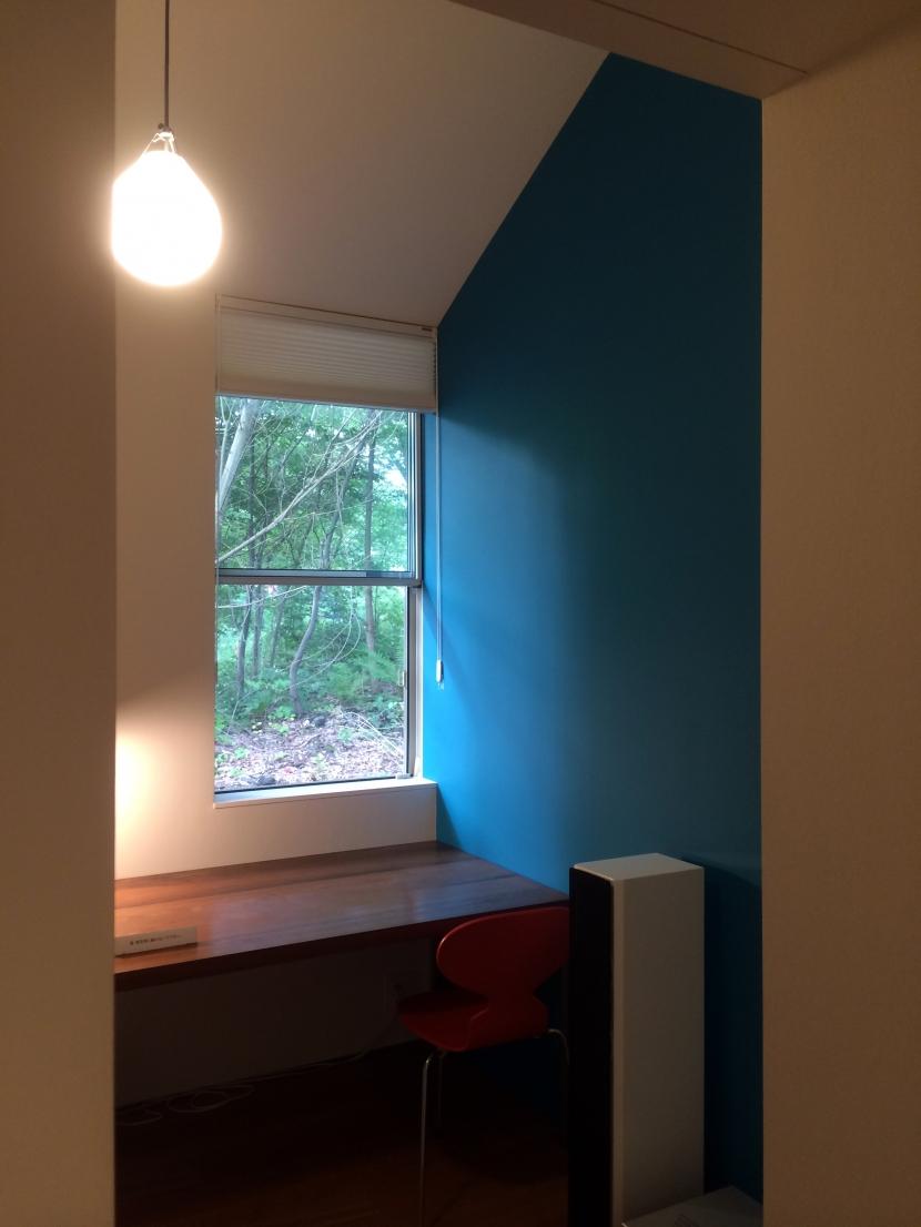 木立のいえの部屋 書斎