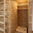 町田市「アンティ玉川学園」:賃貸ワンルームリノベーションの写真 302号室洗濯機スペース