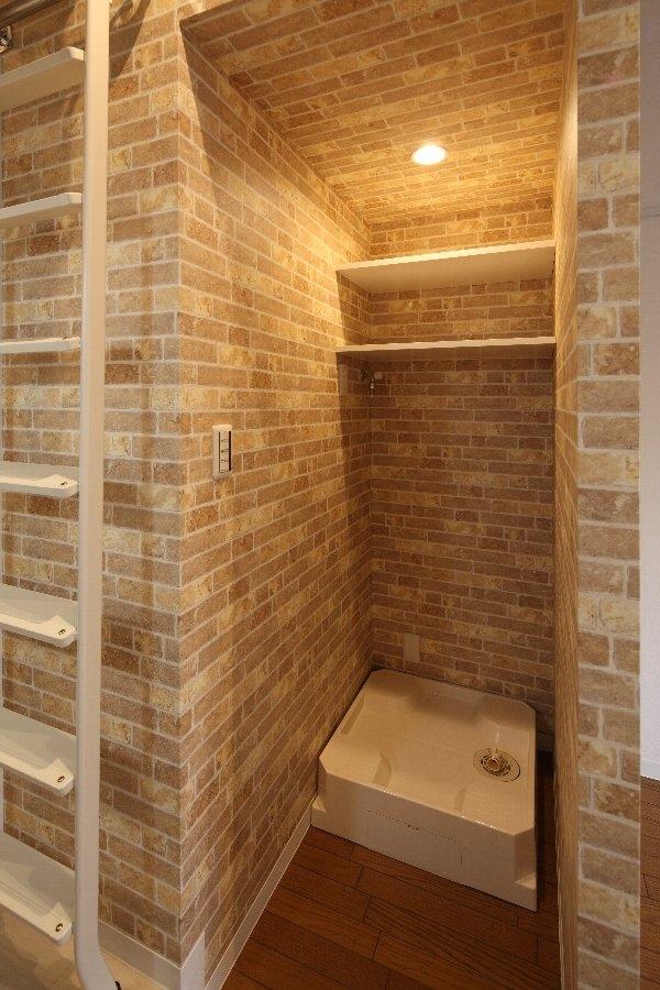 町田市「アンティ玉川学園」:賃貸ワンルームリノベーションの部屋 302号室洗濯機スペース