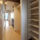 町田市「アンティ玉川学園」:賃貸ワンルームリノベーションの写真 302号室玄関収納