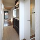 町田市「アンティ玉川学園」:賃貸ワンルームリノベーションの写真 310号室玄関から