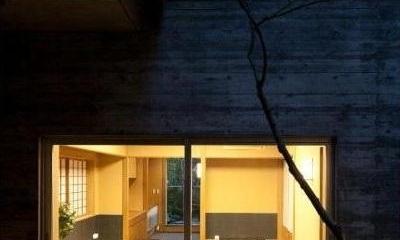 小間・広間・立礼席  RC住宅の1階に和の空間