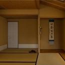 小間・広間・立礼席  RC住宅の1階に和の空間の写真 和室(茶室)/4畳