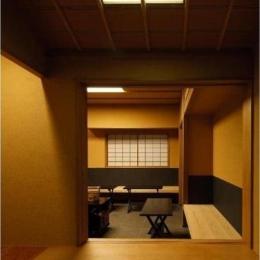小間・広間・立礼席  RC住宅の1階に和の空間 (和室(茶室)/4畳)
