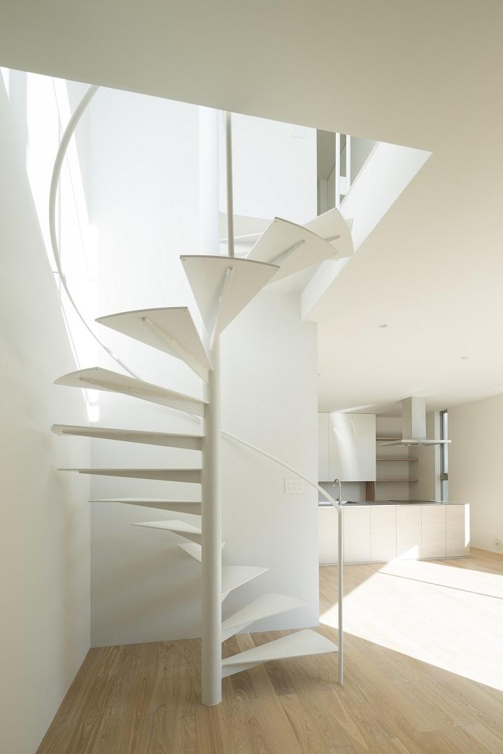 sha-laの写真 らせん階段