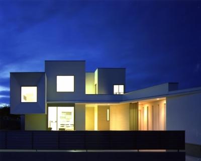 T3-house「ステージのある家」 (外観)