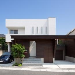 外観 (U3-house「回廊の家」)