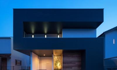 D-house「多角形の家」 (外観)