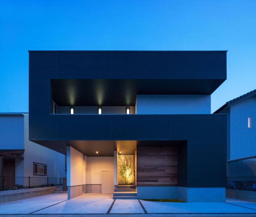 D-house「多角形の家」の部屋 外観