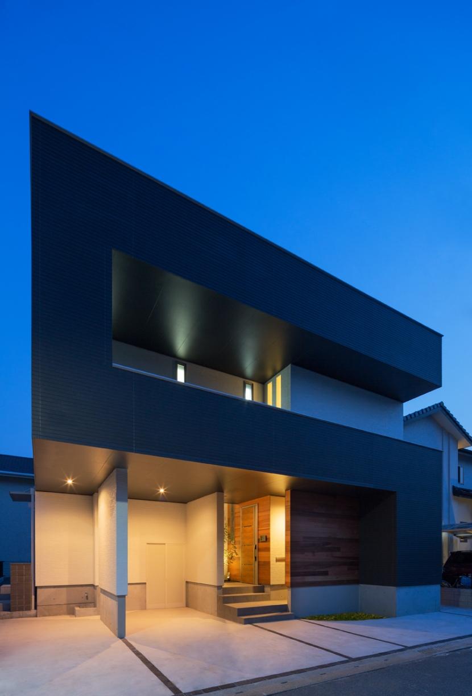 D-house「多角形の家」