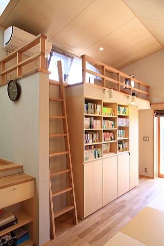 囲まれていてものびのび暮らせる家の写真 ロフト