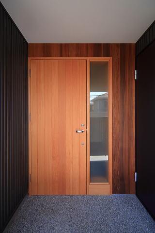 囲まれていてものびのび暮らせる家の写真 玄関