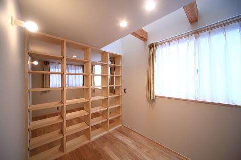 囲まれていてものびのび暮らせる家の写真 子供室