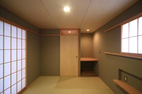 囲まれていてものびのび暮らせる家の写真 和室