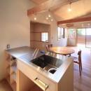 アトリエのある家~2人の好きなことを楽しむ家~の写真 キッチン