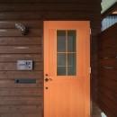 アトリエのある家~2人の好きなことを楽しむ家~の写真 玄関
