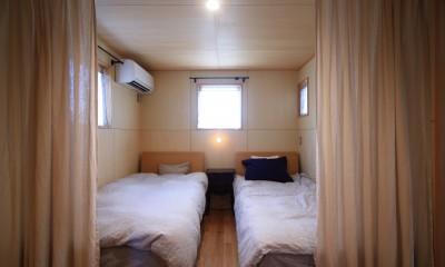 アトリエのある家~2人の好きなことを楽しむ家~ (寝室)