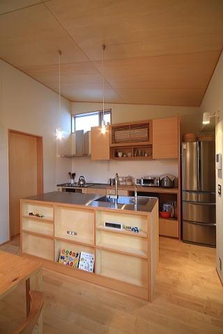 シンプル+ナチュラルな家の部屋 キッチン