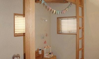 シンプル+ナチュラルな家 (子供室)