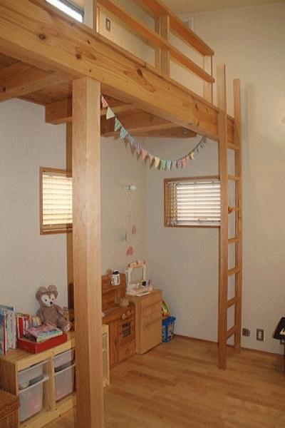 子供室 (シンプル+ナチュラルな家)