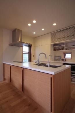 北欧家具と暮らす家 (キッチン)