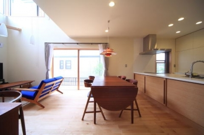 北欧家具と暮らす家 (ダイニング)