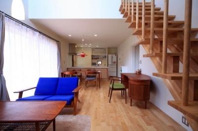 北欧家具と暮らす家 (リビング)