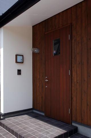 北欧家具と暮らす家の部屋 玄関