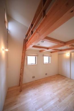北欧家具と暮らす家 (子供室)