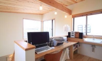 書斎|北欧家具と暮らす家