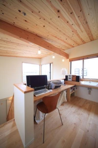 書斎 (北欧家具と暮らす家)