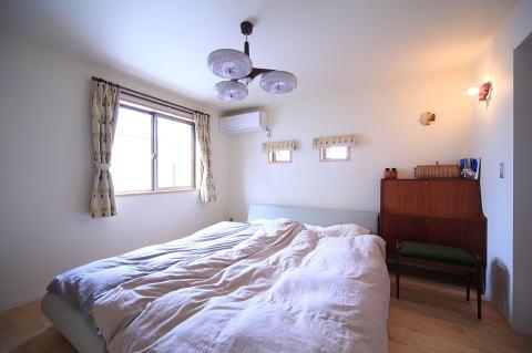 北欧家具と暮らす家の部屋 寝室