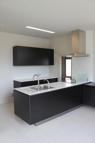 眺めのよい家の部屋 子世帯キッチン