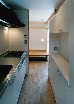 室町の家 (キッチン(撮影:松村芳治))