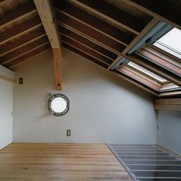 室町の家 (ロフト(撮影:松村芳治))