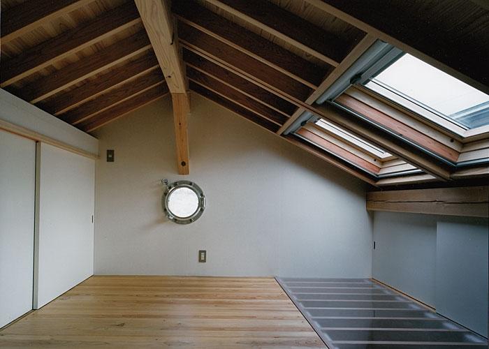 室町の家の部屋 ロフト(撮影:松村芳治)