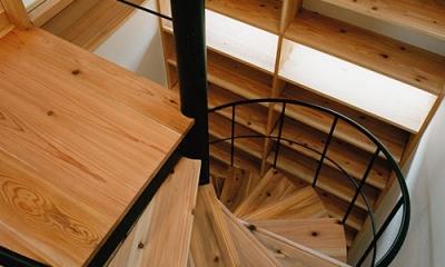 室町の家 (階段(撮影:松村芳治))