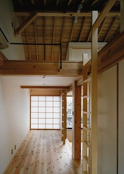 室町の家 (子供室(撮影:松村芳治))