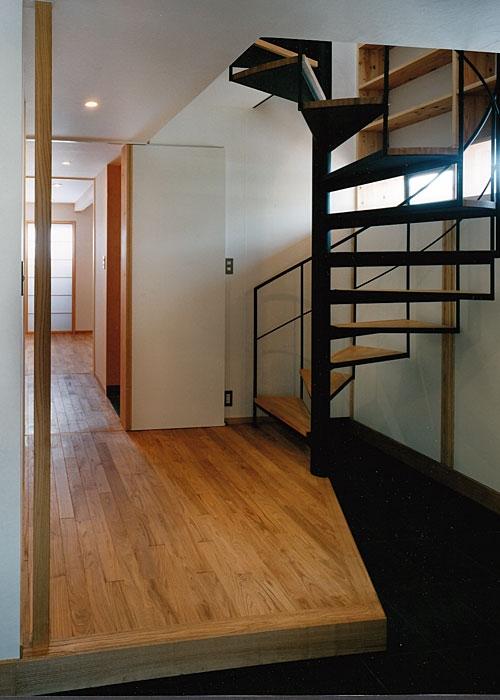 室町の家の部屋 玄関(撮影:松村芳治)