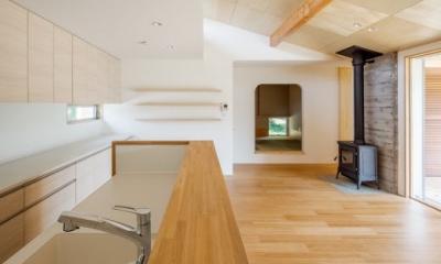 鴻巣の曲り家 (キッチン)