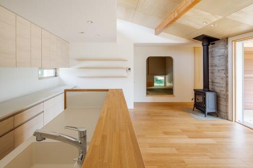 鴻巣の曲り家の部屋 キッチン